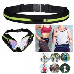 Running bag de 2 compartimentos