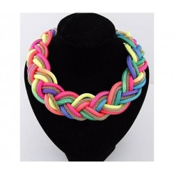 Collar Flourescente Multicolor