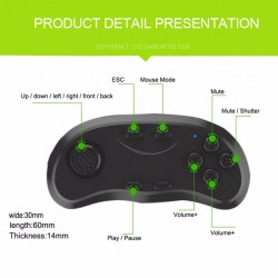 Mini Game Pad Bluetooth y Mouse